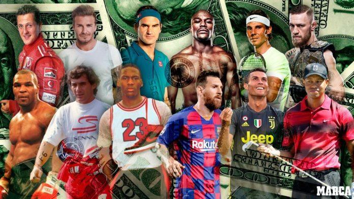 deportistas mejor pagados