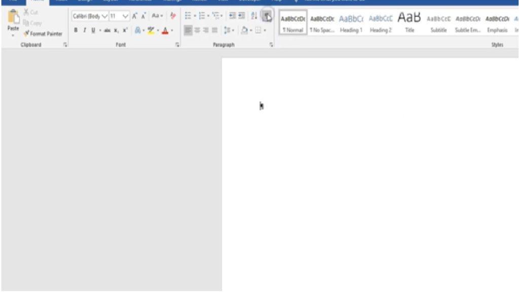 Cómo eliminar una página en Word
