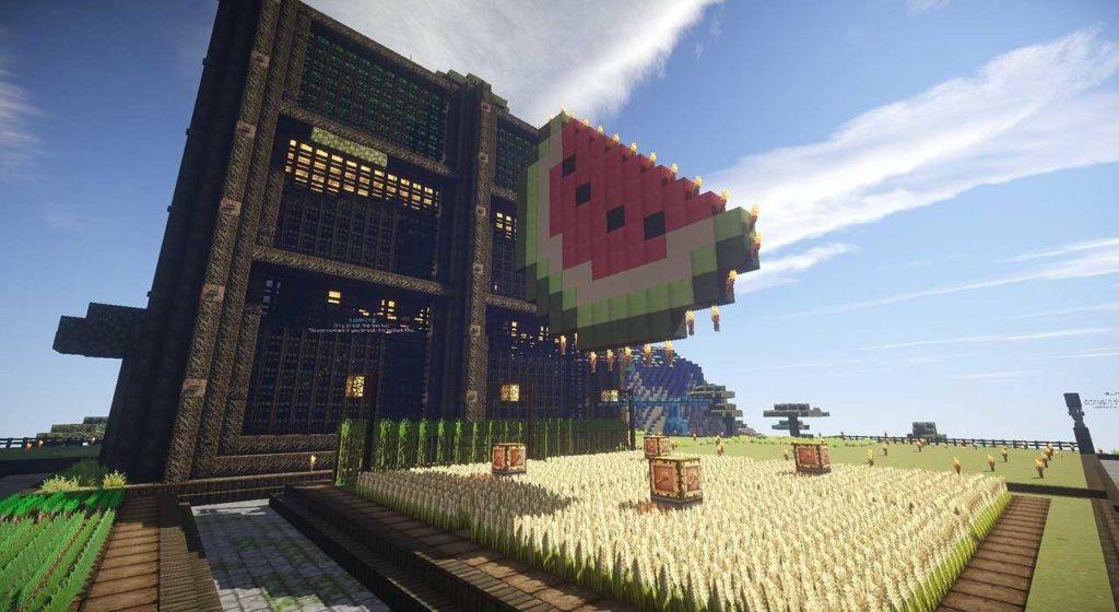 Forma de casas en Minecraft