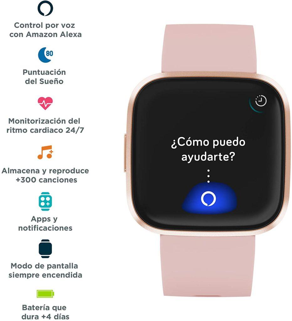 Review del Fitbit Versa 2 para su compra.