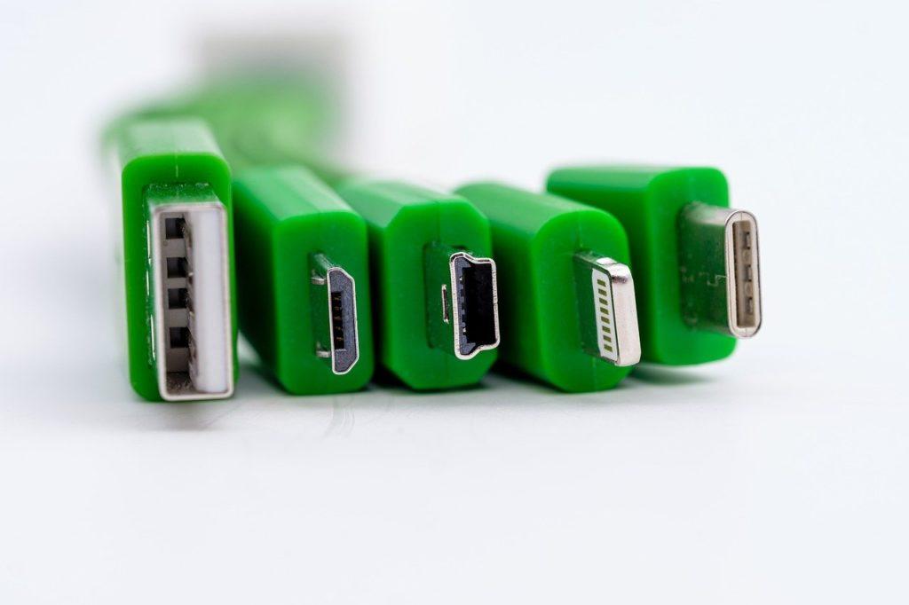Diferencias de adaptador usb de tipo C con los demás cables usb